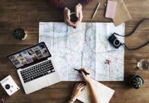 Cartina, viaggi, turismo