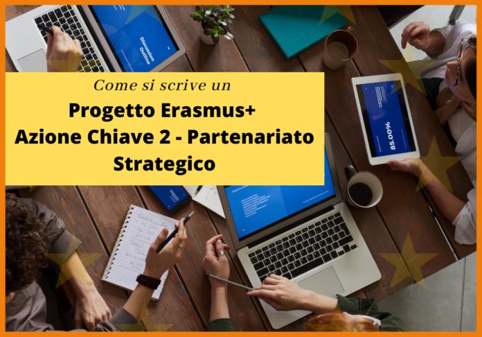 scrivere progetto erasmus+ partenariato strategico